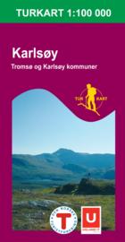 Wandelkaart Karlsøy 2623 | Nordeca | 1:100.000 | ISBN 7046660026236