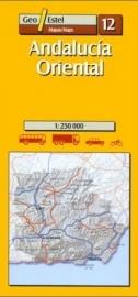 Auto - Fietskaart Andalucia Oost | GeoEstel  No. 12 | 1:250.000 | ISBN 9788495788078