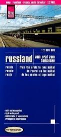 Wegenkaart Rusland, Vom Ural zum Baikalsee | Reise Know How | 1:2 miljoen | ISBN 9783831772315