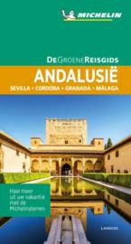 Reisgids Andalusië | Michelin groene gids | Sevilla - Cordoba - Granada - Almeria | ISBN 9789401457224