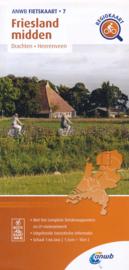 Fietskaart Friesland Midden   ANWB 7   1:66.666    ISBN 9789018047085