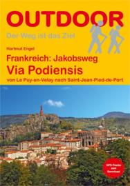 Wandelgids Via Podiensis : van Le Puy-en-Velay naar Saint-Jean-Pied-de-Port | Conrad Stein Verlag | ISBN 9783866866140