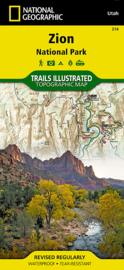 Wandelkaart Zion NP   National Geographic   1:37.700   ISBN 9781566952972