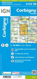 Wandelkaart Corbigny & Lormes | Morvan | IGN 2723SB | ISBN 9782758539094