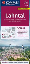 Fietskaart Lahntal  | Kompass 3339 | 1:70.000 | ISBN 9783990446836