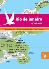 Reisgids + plattegrond Rio de Janeiro in kaart | Dominicus | ISBN 9789025755256