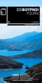 Wandelkaart Fourni | Terrain Maps 333 | 1:25.000 | ISBN 9789609456111