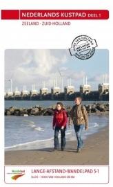 Wandelgids Nederlands Kustpad deel 1 | LAW 5.1  -NIVON | Sluis - Hoek van Holland 210 km | ISBN 9789071068904