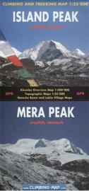 Wandelkaart Island Peak - Mera Peak | Climbing-map | 1:25.000 | ISBN 978395232945
