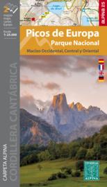 Wandelkaart Picos de Europa Oost en West | Editorial Alpina | 1:40.000 | ISBN 9788480907804