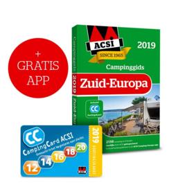Kampeergids Zuid Europa 2019 + App | ACSI | ISBN 9789492023643