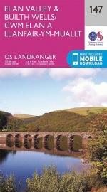 Wandelkaart Ordnance Survey | Elan Valley & Builth Wells 147 | ISBN 9780319262450