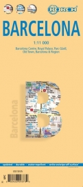 Stadskaart Barcelona | Borch | ISBN 9783866093737