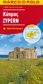 Wegenkaart Cyprus | Marco Polo | 1:200.000 | ISBN 9783829739993