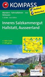 Wandelkaart Inneres Salzkammergut, Ausseerland | Kompass 020 | 1:25.000 | ISBN 9783850262606