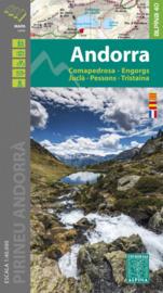 Wandelkaart Andorra | Editorial Alpina | 1:40.000 | ISBN 9788480908429