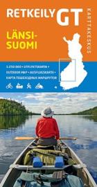 Fiets- Wegenkaart Lansi -Suomi GT 3 - West Finland | Karttakeskus | 1:250.000 | ISBN 9789522663412