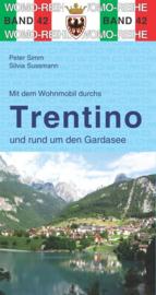Campergids Mit dem Wohnmobil durchs Trentino en Gardasee, Dolomieten en Gardameer | Womo 42 | ISBN 9783869034256