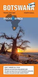 Wegenkaart Botswana | Tracks4Africa | 1:miljoen| ISBN 9780992183080