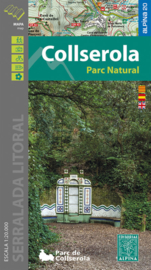 Wandelkaart Serra de Collserola | Editorial Alpina | 1:20.000 | ISBN 9788480908320