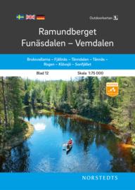 Wandelkaart Ramundberget / Funasdalen / Vemdalen | Norsteds 12 | ISBN 9789113105093