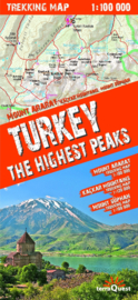 Wandelkaart Turkije - Turkey, the highest peaks | Terraquest | ISBN 9788361155294