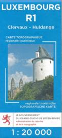 Wandelkaart Clervaux / Huldange | Topografische dienst Luxembourg 01 | ISBN 5425013060394
