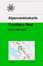 Wandelkaart - Trekkingkaart Cordillera Real Nord | DAV | 1:50.000 | ISBN 5425013065412