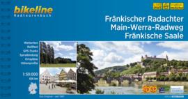 Fietsgids Fränkischer Radachter - Main-Werra-Radweg - Fränkische Saale - 656 km | Bikeline | ISBN 9783850006941