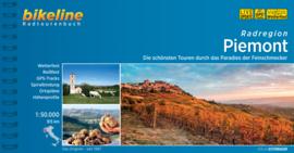 Fietsgids Piemont Radregion | Bikeline | ISBN 9783850009454