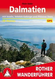 Wandelgids Dalmatië | Rother Verlag | ISBN 9783763344765