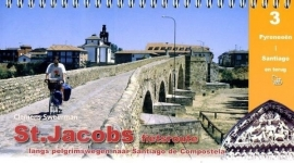 Fietsgids St. Jacobsfietsroute Deel 3 | Pirola | Fietsroute Pyreneeën - Santiago | ISBN 9789064558689