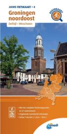 Fietskaart Groningen noordoost   ANWB 4   1:66.666    ISBN 9789018047054