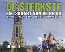 Fietskaart De sterkste fietskaart van de regio : Utrecht | Buijten & Schipperheijn | 1:50.000 | ISBN 9789058817129