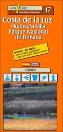 Auto - Fietskaart Costa de La Luz - Huelva | GeoEstel No. T017 | 1:150.000 | ISBN 9788495788375