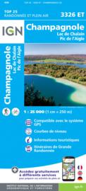 Wandelkaart Champagnole, Lac de Chalain, Pic de L`Aigle | Jura | IGN 3326ET - IGN 3326 ET | ISBN 9782758546641