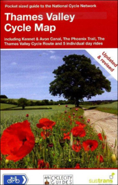 Fietskaart Cycle City Guide nr. 10 | Thames Valley Cycle Map | 1:110.000 | ISBN 9781900623209