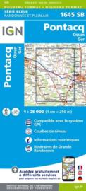 Topo-, wandelkaart Pontacq / Ossun / Ger |  IGN 1645SB | ISBN 9782758536215
