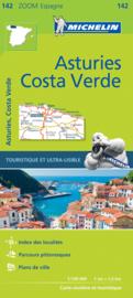 Wegenkaart - Fietskaart  Asturies - Costa Verde | Michelin 142 | ISBN 9782067218031