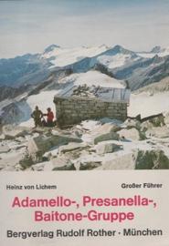 Alpinegids Adamello, Presanella, Baitonegruppe | AVF Rother Verlag | ISBN 9783763323128