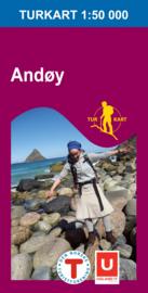 Wandelkaart Andoy - Lofoten 2724 | Nordeca | 1:50.000 | ISBN 7046660027240