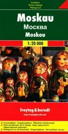 Stadskaart Moskou | Freytag & Berndt |  1:20.000 | ISBN 9783707906158