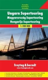 Wegenatlas Hongarije - Supertouring Atlas Ungarn | Freytag & Berndt | ISBN 9783707912920