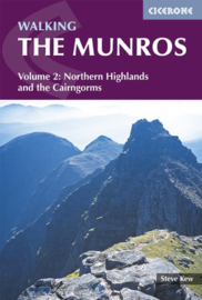 Wandelgids Walking the Munro`s Vol. 2 / Northern Highlands and the Cairngorms | Cicerone |  ISBN 9781852849313