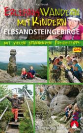 Wandelgids Erlebniswandern mit Kindern Elbsandsteingebirge | Rother Verlag | ISBN 9783763331772
