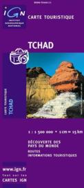 Wegenkaart Tsjaad | IGN | ISBN 3282118500611