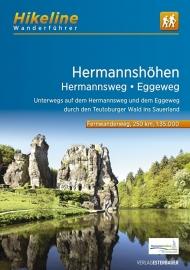 Wandelgids Hermannsweg / Eggeweg | Hikeline | ISBN 9783850007672
