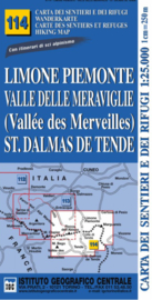 Wandelkaart Limone Piemonte, Valle delle Meraviglie  | IGC nr.114 | 1:25.000 - ISBN 9788896455449