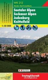 Wandelkaart Seetaler Alpen - Seckauer Alpen - Judenburg - Knittelfeld | Freytag & Berndt 212 | 1:50.000 | ISBN  9783850846813
