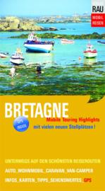 Campergids Bretagne - Mit dem Wohnmobil nach Bretagne | Werner Rau Verlag | ISBN 9783926145789